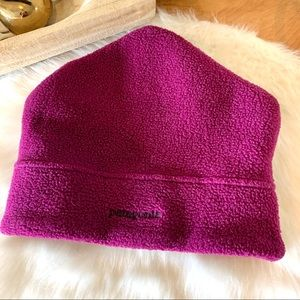 Patagonia soft fleece hat